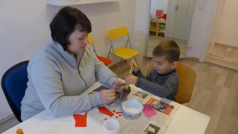 Kinder-Ergotherapie im Therapiezentrum am Schloss, Berlin-Charlottenburg