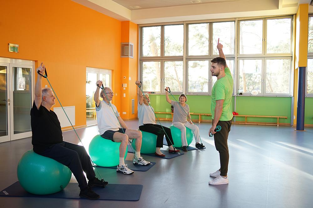 Gefäßsport im Gesundheitszentrum Zehlendorf