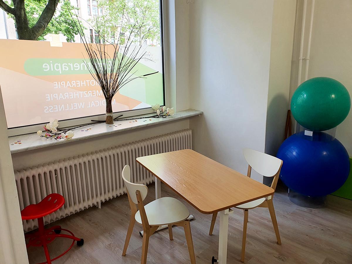 Ergotherapie-Raum im Therapiezentrum am Schloss