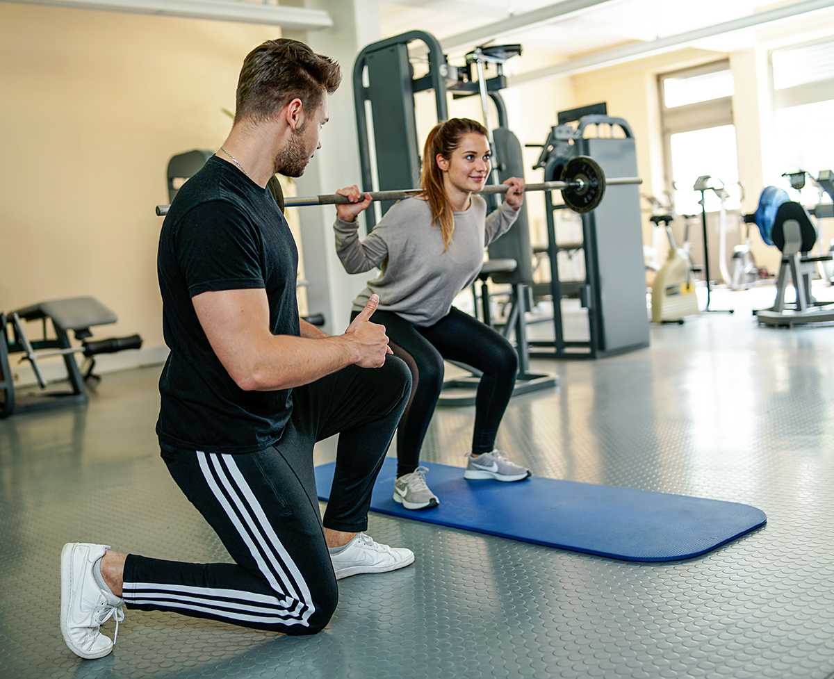 Personal Training mit Thomas Bildstein