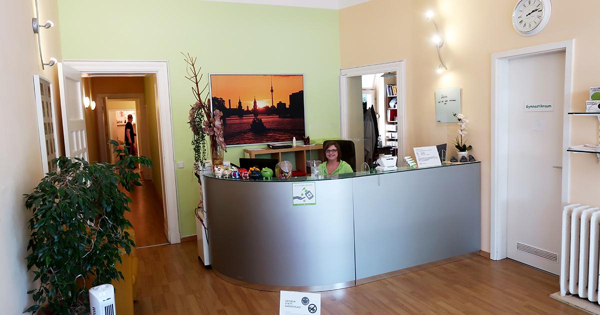 Therapiezentrum am Schloss, Anmeldung