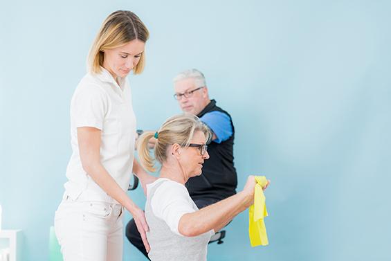 Ergotherapie im Therapiezentrum am Schloss und im Gesundheitszentrum Zehlendorf