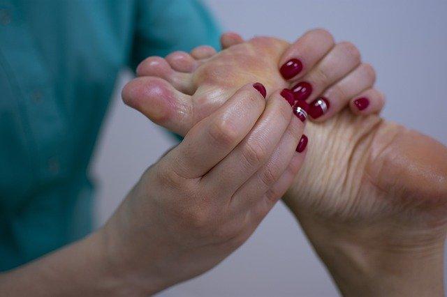 Fußreflexzonen-Massage im Gesundheitszentrum Schöneberg