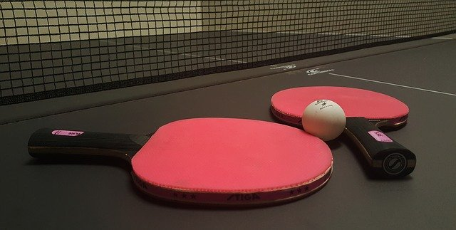 Tischtennis im Gesundheitszentrum Lichtenberg