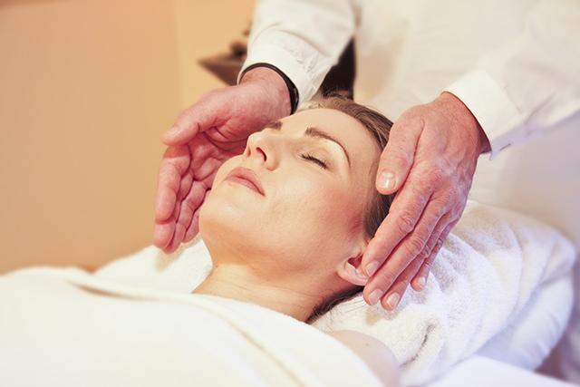 Reiki-Massage im Therapiezentrum am Schloss