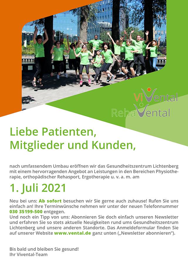 Wiedereröffnung Gesundheitszentrum Lichtenberg