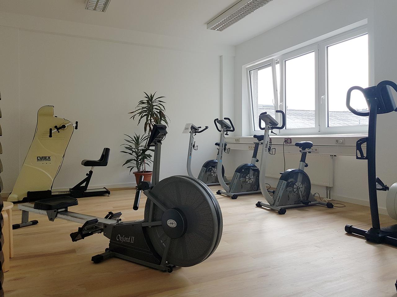 Gesundheitszentrum Lichtenberg, Trainingsgeräte